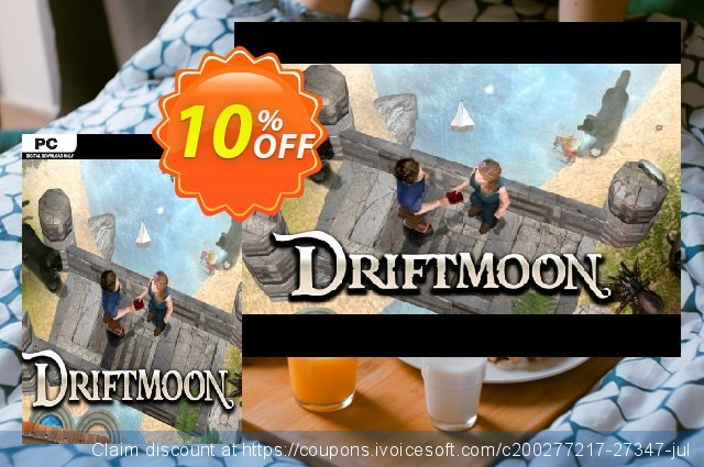 Driftmoon PC discount 10% OFF, 2020 Thanksgiving Day offering sales
