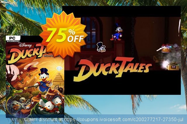 Ducktales: Remastered PC discount 13% OFF, 2020 Thanksgiving Day promo