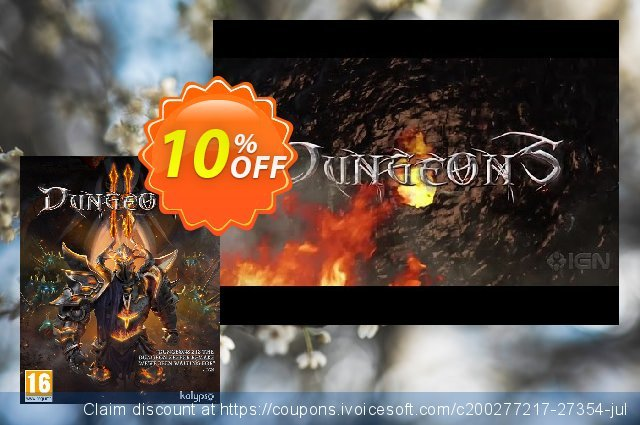 Dungeons 2 PC discount 10% OFF, 2020 Black Friday offering sales