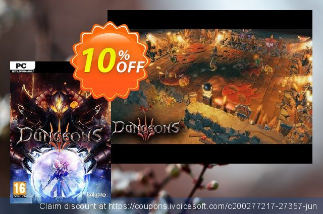 Dungeons III 3 PC discount 10% OFF, 2020 Xmas offering sales
