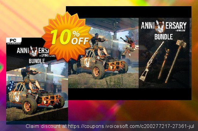 Dying Light - 5th Anniversary Bundle DLC discount 10% OFF, 2020 Xmas Day deals