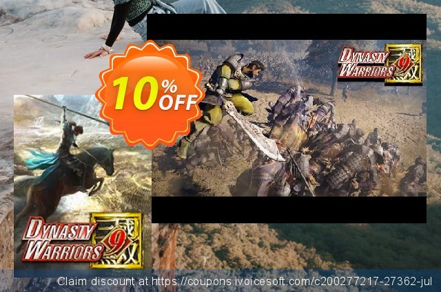 Dynasty Warriors 9 PC discount 10% OFF, 2021 New Year's Weekend offering sales
