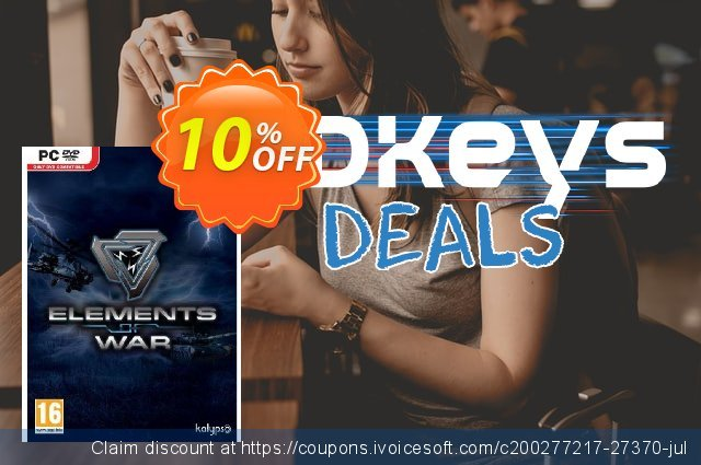 Elements of War (PC) discount 10% OFF, 2020 Thanksgiving offering sales