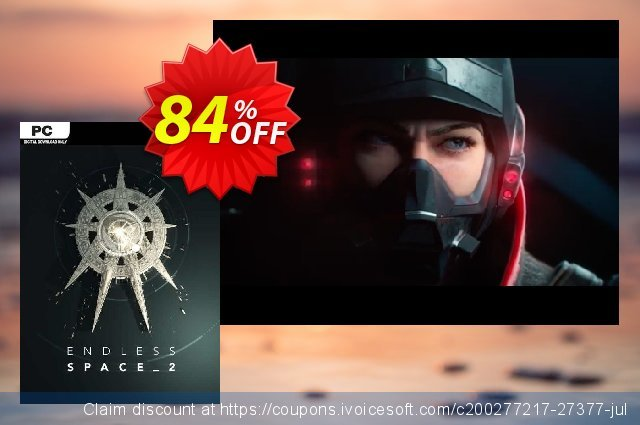 Endless Space 2 PC discount 10% OFF, 2020 New Year's Day discounts