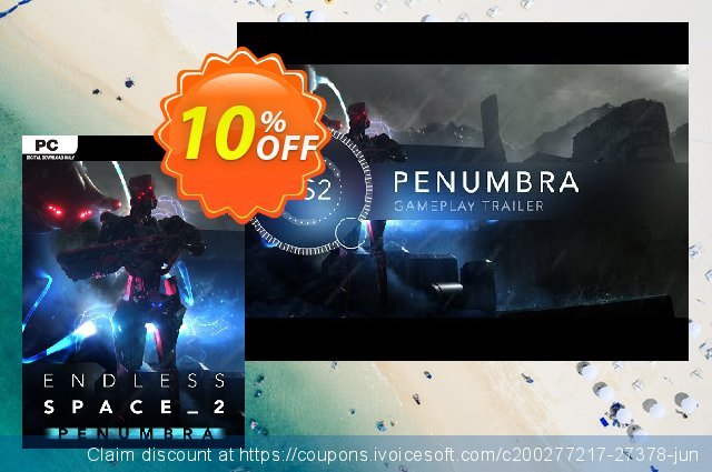Endless Space 2 PC - Penumbra DLC (EU) discount 41% OFF, 2020 Black Friday discounts