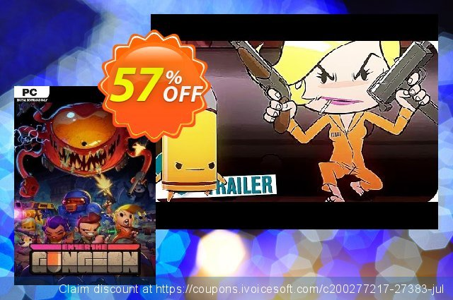 Enter the Gungeon PC discount 10% OFF, 2020 Thanksgiving Day discount