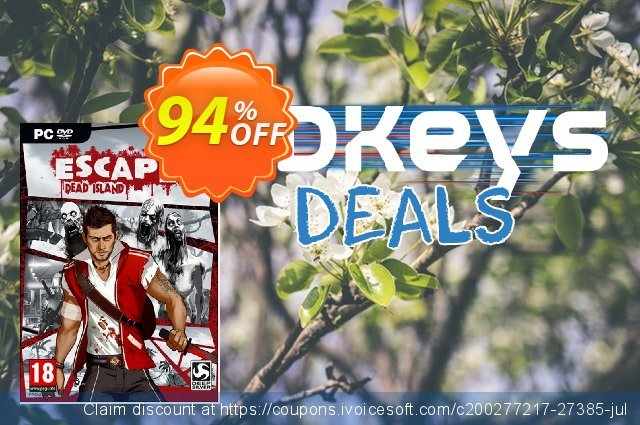 Escape Dead Island PC discount 93% OFF, 2020 Thanksgiving offering sales