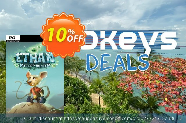 Ethan Meteor Hunter PC discount 10% OFF, 2020 New Year's Day promo sales