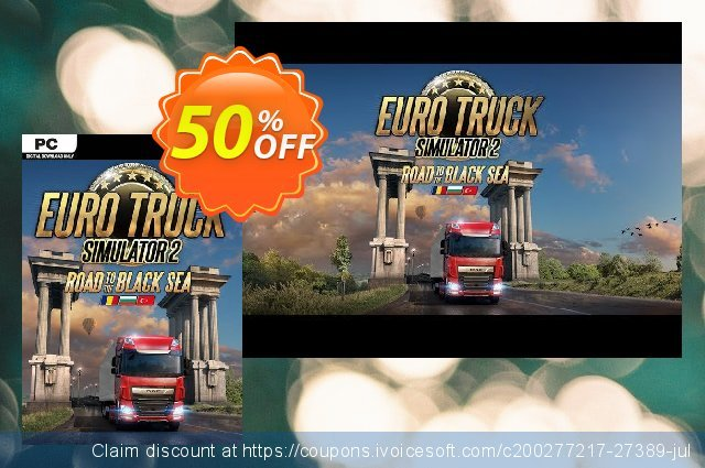Euro Truck Simulator 2 PC - Road to the Black Sea DLC discount 25% OFF, 2020 Thanksgiving Day offering sales