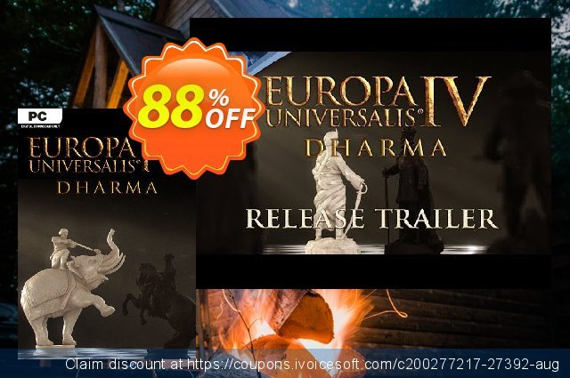 Europa Universalis IV 4 PC Inc. Dharma discount 88% OFF, 2021 New Year offer