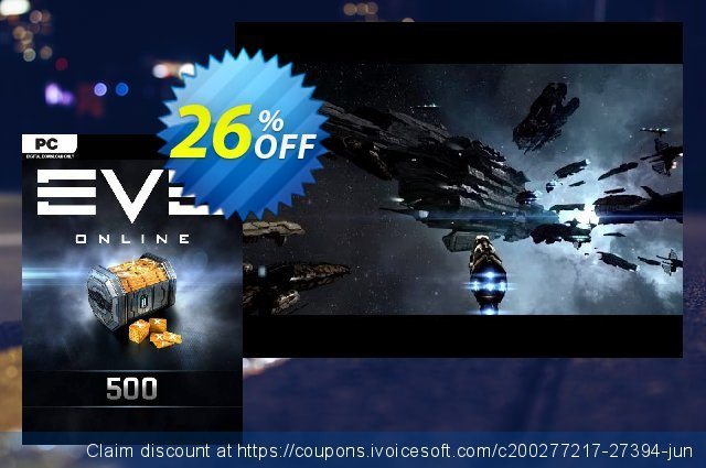 EVE Online - 500 Plex Card PC discount 26% OFF, 2020 Christmas & New Year offering sales