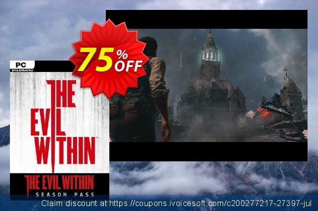 The Evil Within Season Pass PC discount 19% OFF, 2020 Thanksgiving discounts
