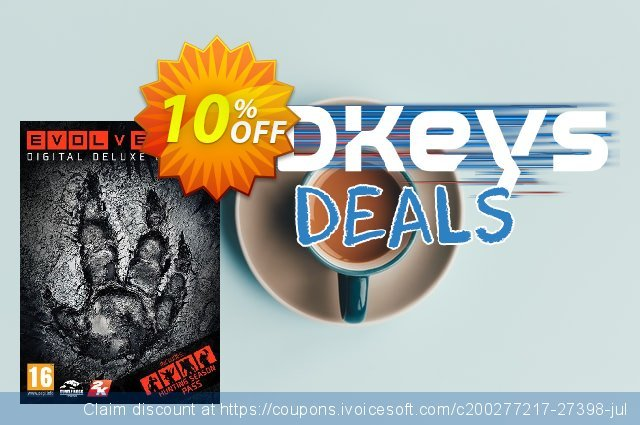 Evolve Digital Deluxe PC discount 10% OFF, 2020 Thanksgiving Day promotions