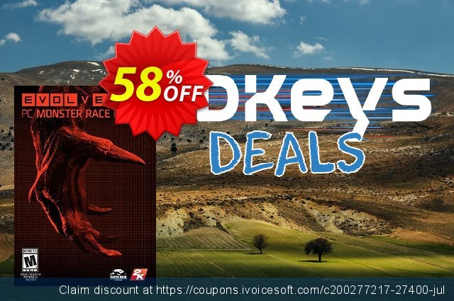 Evolve PC Monster Race PC discount 58% OFF, 2020 Thanksgiving deals