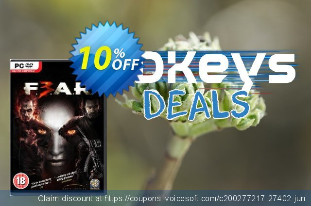 F.E.A.R. 3 (PC) discount 10% OFF, 2021 January offering sales