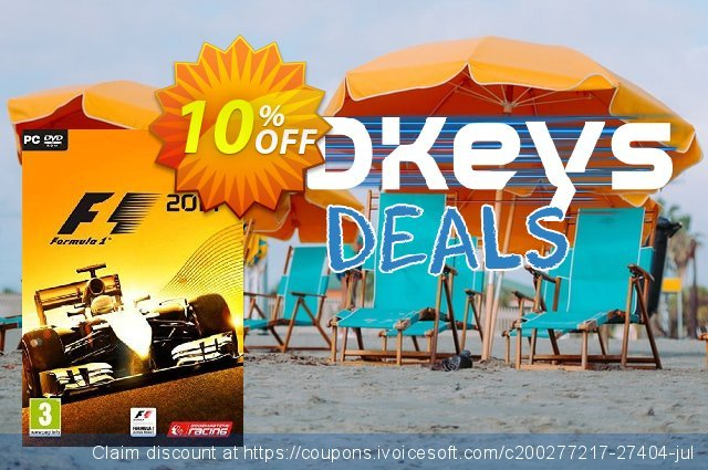 F1 2014 PC discount 10% OFF, 2020 Thanksgiving Day offering sales