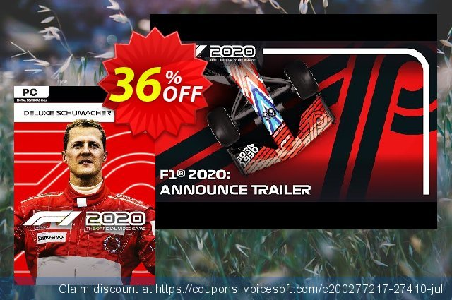 F1 2020 Schumacher Edition PC discount 49% OFF, 2020 Thanksgiving Day offering sales