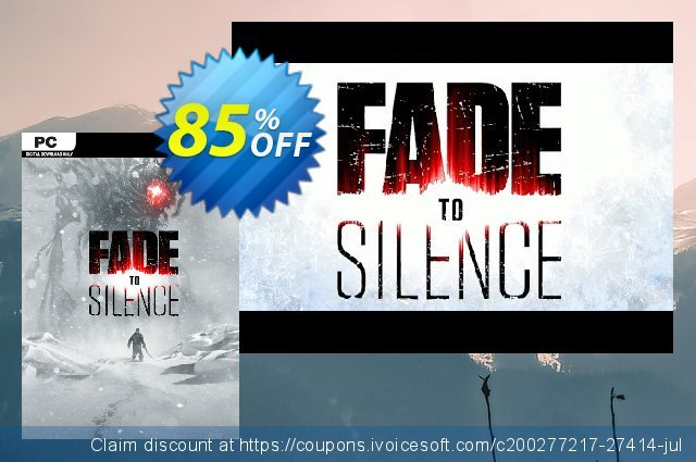 Fade to Silence PC discount 64% OFF, 2020 Christmas Day offering sales