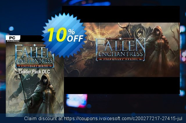 Fallen Enchantress Legendary Heroes Leader Pack DLC PC discount 10% OFF, 2020 Back to School shopping offering sales