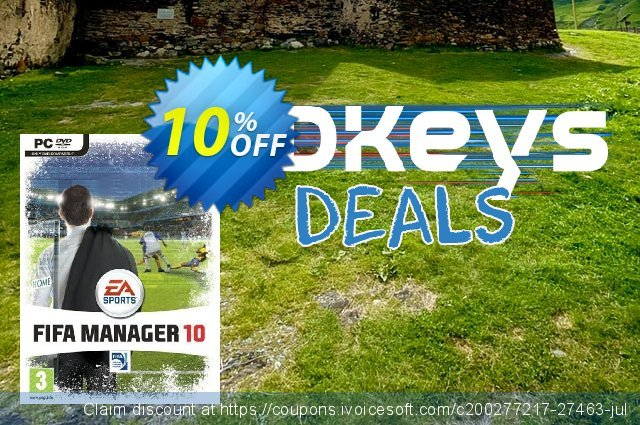 FIFA Manager 10 (PC) discount 10% OFF, 2020 Exclusive Student discount offering sales