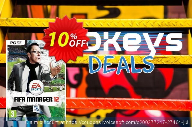 FIFA Manager 12 (PC) discount 10% OFF, 2020 Exclusive Teacher discount offering deals