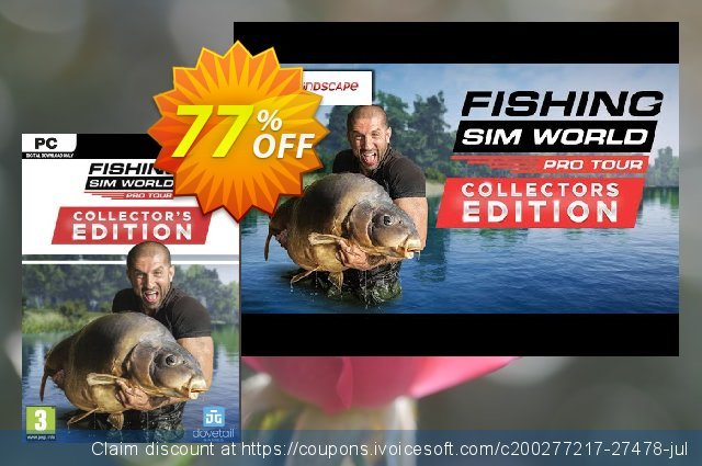 Fishing Sim World 2020 Pro Tour Collector's Edition PC discount 47% OFF, 2020 Xmas Day offering discount