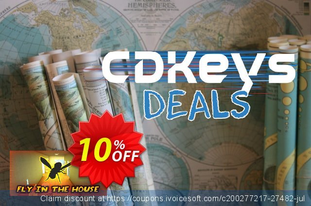 Fly in the House PC discount 10% OFF, 2021 World Environment Day offer. Fly in the House PC Deal
