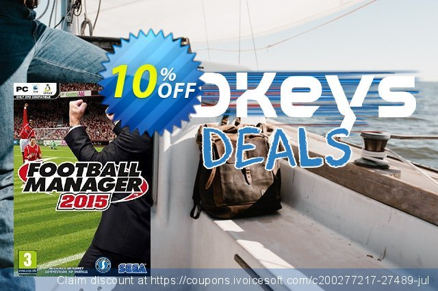 Football Manager 2015 inc. Beta PC/Mac discount 10% OFF, 2021 Spring offering discount