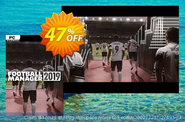 Football Manager 2019 PC (WW) discount 47% OFF, 2020 Thanksgiving promotions