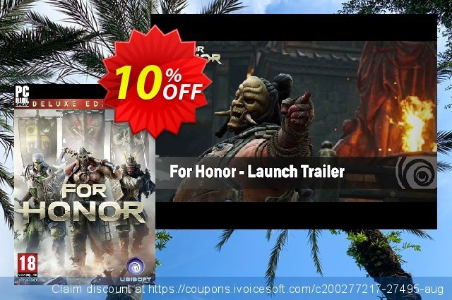 For Honor Deluxe Edition PC  경이로운   가격을 제시하다  스크린 샷