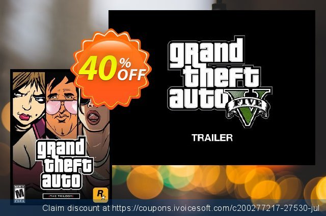 Grand Theft Auto: The Trilogy PC discount 50% OFF, 2020 Thanksgiving Day discounts