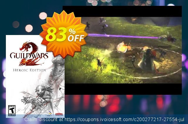 Guild Wars 2 - Heroic Edition PC discount 58% OFF, 2020 Thanksgiving Day discount
