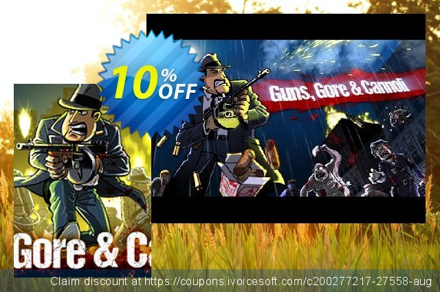 Guns Gore & Cannoli PC discount 10% OFF, 2021 New Year's Weekend offering sales