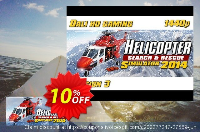 Helicopter Simulator 2014 Search and Rescue PC discount 10% OFF, 2020 Thanksgiving Day promotions
