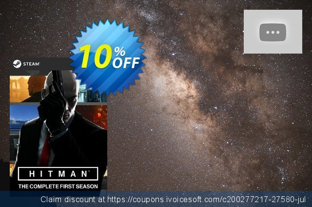 Hitman: The Complete First Season PC + DLC discount 10% OFF, 2020 Halloween offering sales