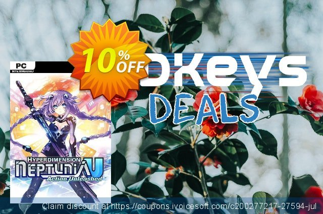 Hyperdimension Neptunia U Action Unleashed PC discount 10% OFF, 2020 Black Friday offering sales