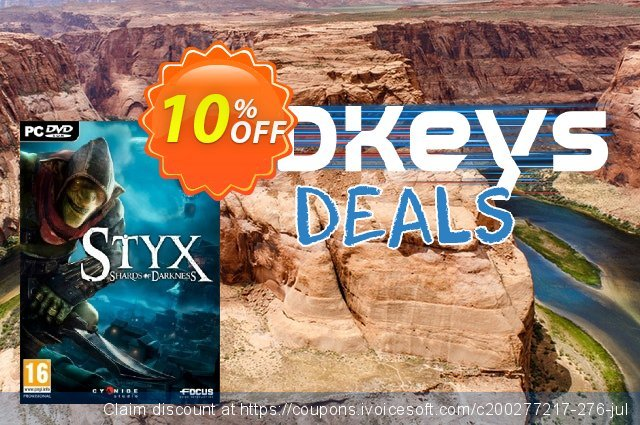 Styx: Shards of Darkness PC discount 10% OFF, 2021 Women Day offering sales