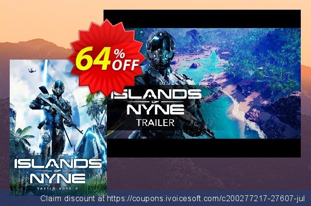 Islands of Nyne Battle Royale PC discount 64% OFF, 2020 Back to School season offering sales