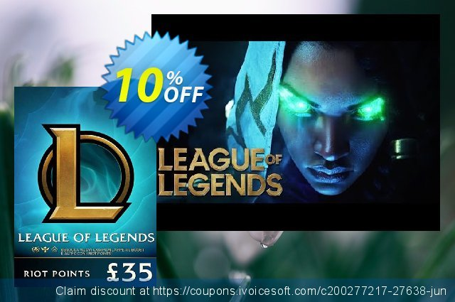 League of Legends 5480 Riot Points (EU - West) discount 10% OFF, 2020 Thanksgiving Day offering sales