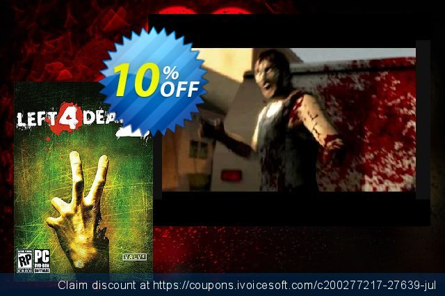 Left 4 Dead 2 PC discount 83% OFF, 2021 Happy New Year offer