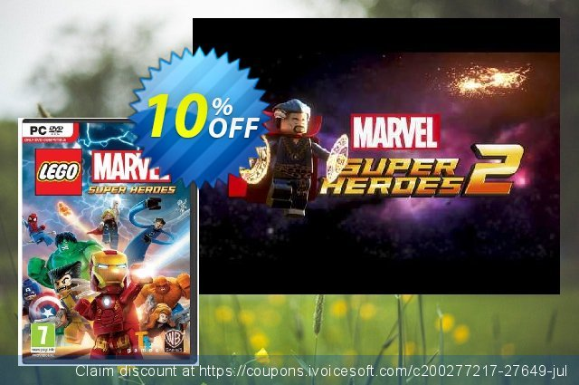 LEGO Marvel Super Heroes PC discount 10% OFF, 2020 Xmas Day offering discount