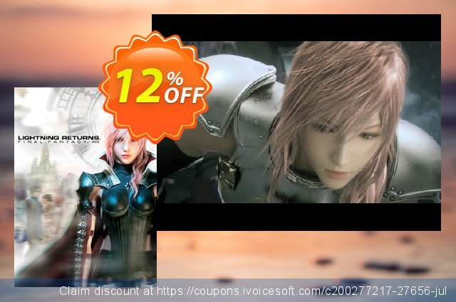 Lightning Returns: Final Fantasy XIII 13 (PC) discount 10% OFF, 2020 Thanksgiving Day offering sales