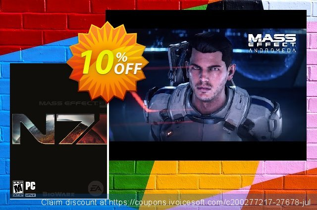 Mass Effect 3: N7 Deluxe Edition PC discount 10% OFF, 2020 Black Friday offering sales
