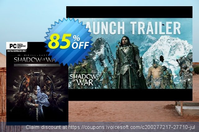 Middle-earth Shadow of War Silver Edition PC  신기한   제공  스크린 샷
