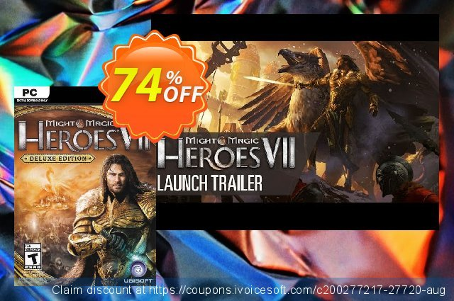 Might and Magic Heroes VII 7 - Deluxe Edition PC  특별한   할인  스크린 샷