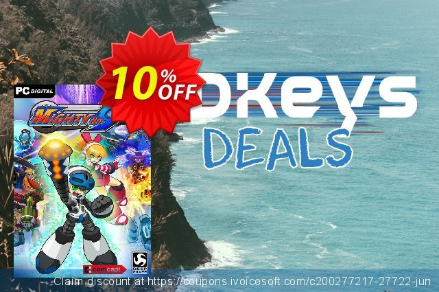 Mighty No. 9 PC discount 10% OFF, 2020 Thanksgiving Day sales