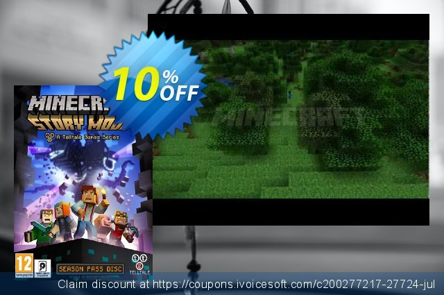 Minecraft Story Mode - A Telltale Games Series (PC) discount 10% OFF, 2020 Thanksgiving offer