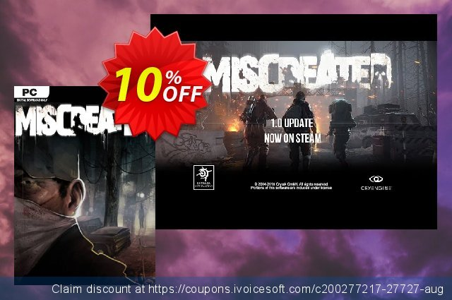 Miscreated PC discount 10% OFF, 2020 Christmas & New Year offering deals