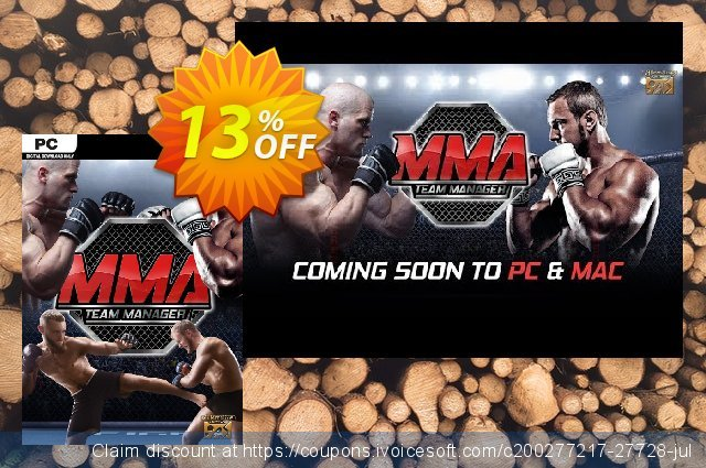 MMA Team Manager PC discount 13% OFF, 2020 Thanksgiving Day offering deals