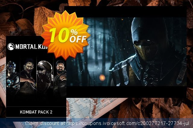 Mortal Kombat X: Kombat Pack 2 PC discount 10% OFF, 2020 Christmas offering sales